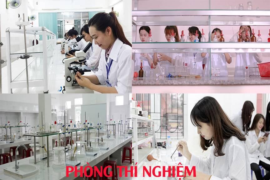 phòng thực hành hóa dược