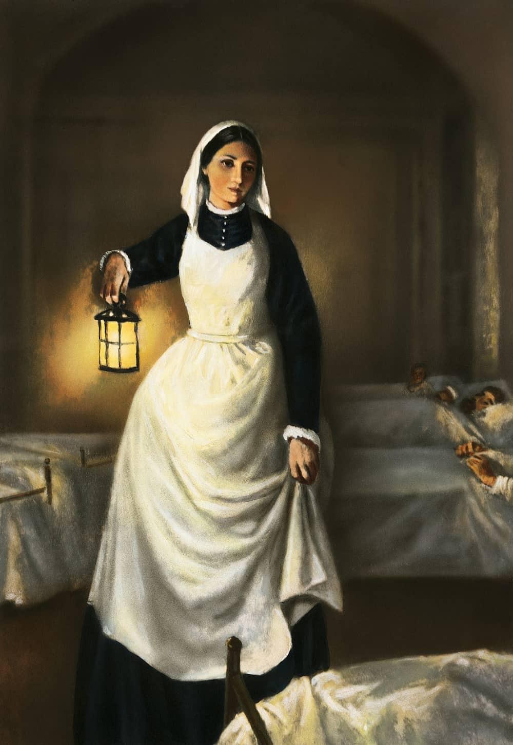 Florence Nightingale - người phụ nữ với cây đèn cầy
