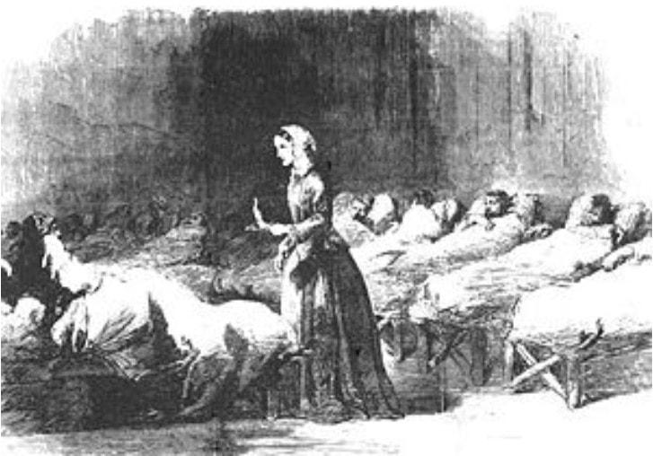 Hình vẽ Florence Nightingale
