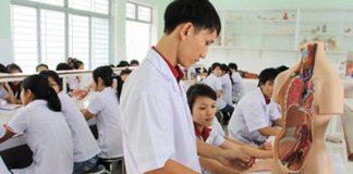 quy định tuyển sinh đối với các trường khối ngành sức khoẻ
